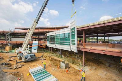 DCA Airport Terminal  - Progress Tour