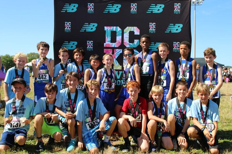 DCXC Invite - Elementary Boys Top Finishers