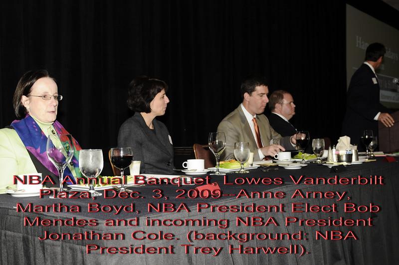 NBA Banquet 2009