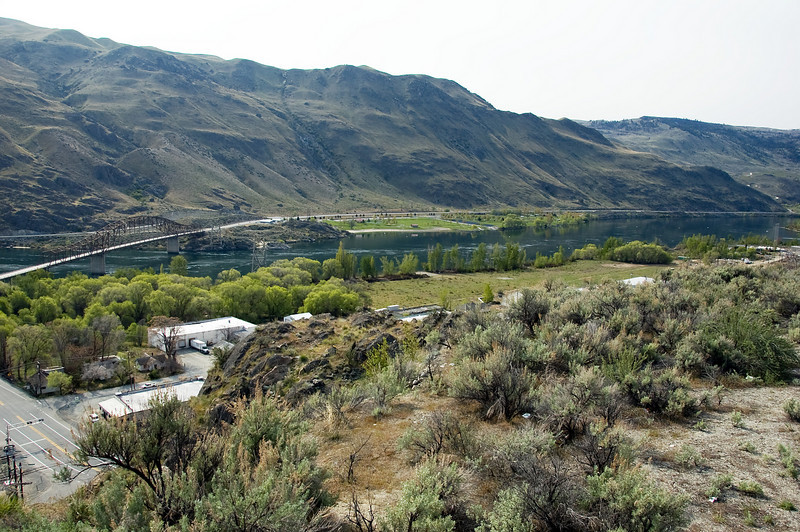 The campground from Chelan.