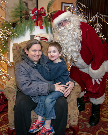 2018 Santa at the Russell Theater