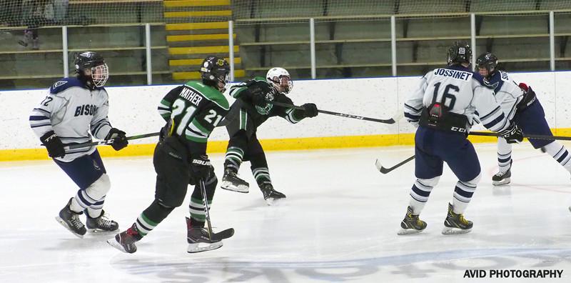 Okotoks Oilers  VS Foothills Bisons Midget AA Dec8 (157).jpg