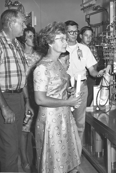 Lab open house late '60s