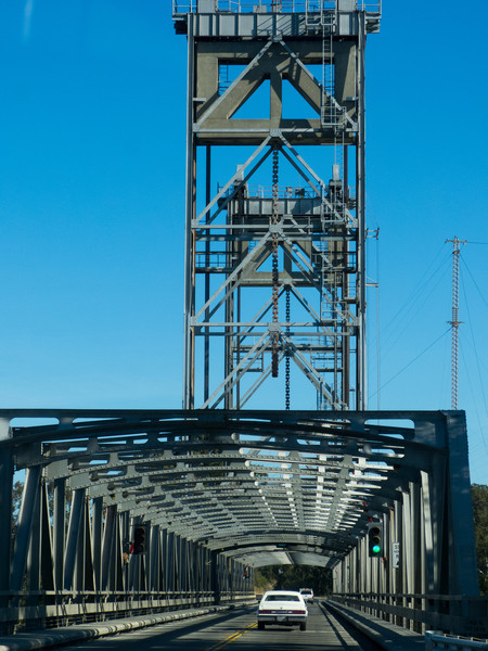 One of the many Delta area raised bridges.