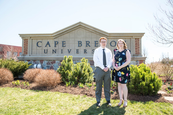 Brooke & Cameron - CBU Grads 2018