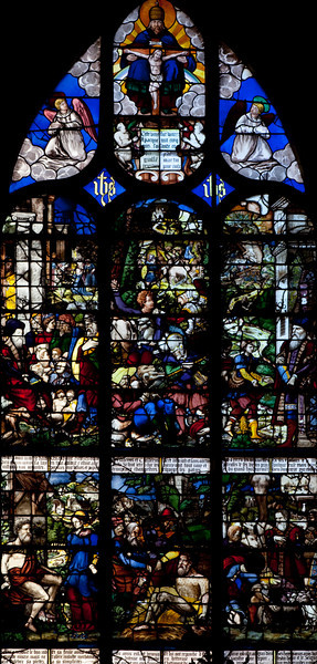 Rouen, Saint-Patrice Church, The Story of Job