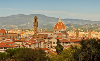 Europe, Florence, Italy July 9, 10