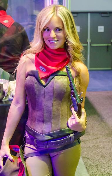 Girl at E3 2012