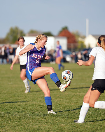 LB Girls' Soccer vs USHS 1H in Sectional Finals (2020-10-22)