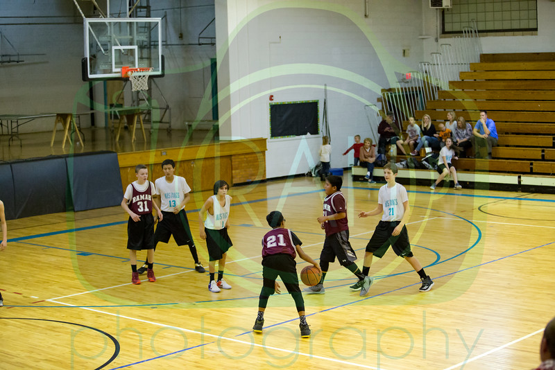Ramah vs Gallup Mid Boys Basketball 12-5-16