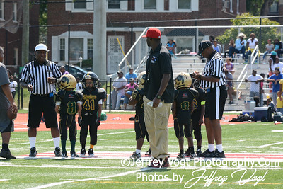 09-07-2013 Riggs Rd Steelers vs MVSA Chiefs Super Tiny Mites, Photos by Jeffrey Vogt Photography