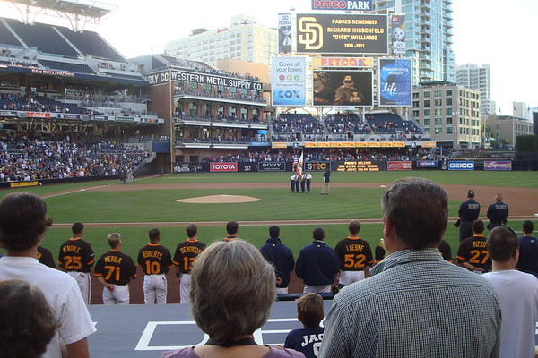 2011-07-14 Padres Game with Paul