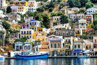 GREECE, SYMI ISLAND