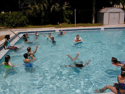 Jeff 3rd Grade Pool Party - 6/7/2001