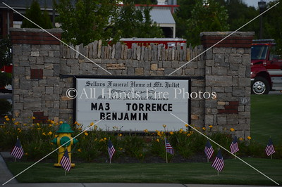 20160802 - Mount Juliet - MA3 Torrence Procession