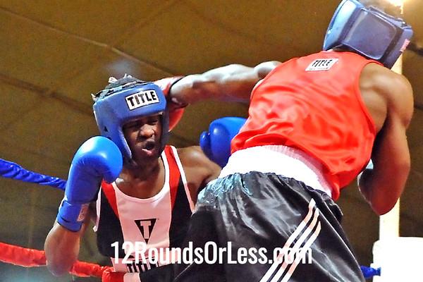 Bout 12 Armond  Richard, Zelma George/Empire Boxing -vs- Brandon Rembert, King's Gym, 132 lbs, Novice