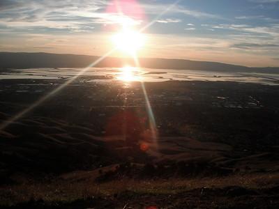 2010 Fall hike - Ohlone trail -- 28mi 7600ft elevation gain