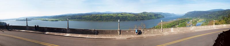 First Stop:  Crown Point for a wide view of the Columbia River.