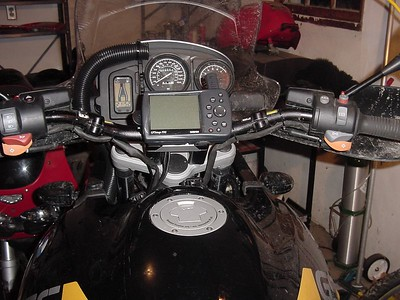 GPS mount for Ricky's bars