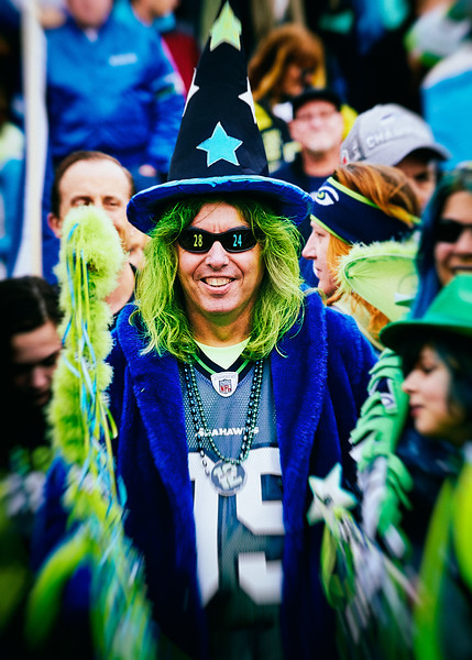 Seahawks' 12th Man Wizard Let Go