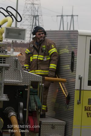 12/14/2014, 3 Alarm Building, Upper Pittsgrove Twp. Salem County NJ, 103 Bridgeton Rd.