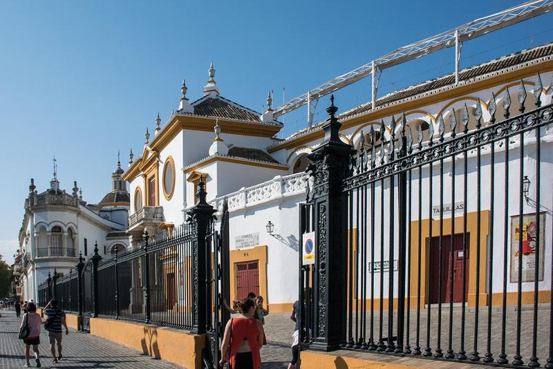 Plaza de toros, Baroque bullring