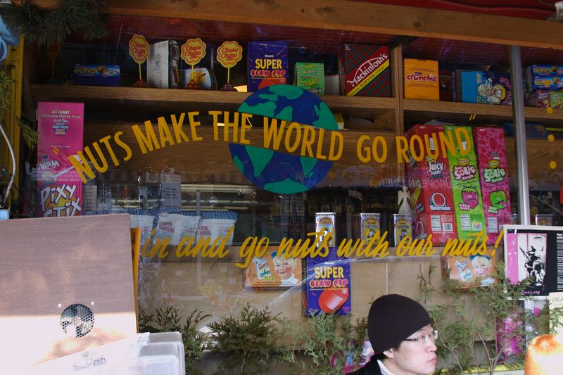 Nuts Make The World Go Round