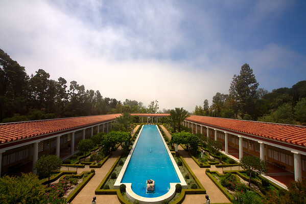 Getty Villa - Pool Side