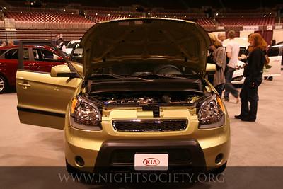 Saint Louis 2011 Auto Show at Americas Center 01-28-11
