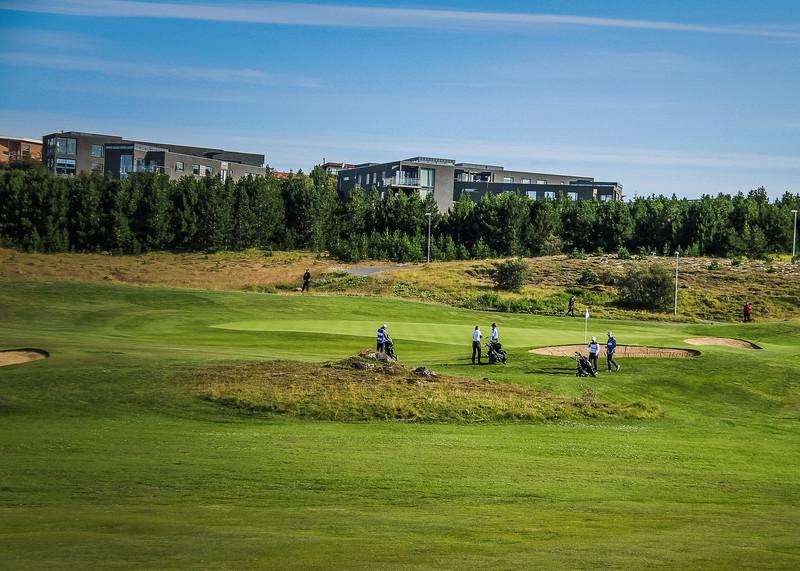 Íslandsmót golf 2019 Grafarholt - 1. keppnisdagur. Mynd: seth@golf.is