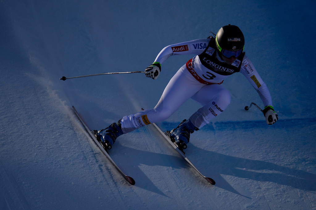. BEAVER CREEK, CO - FEBRUARY 09: Jacqueline Wiles of the USA competes during the men\'s alpine combined final. FIS Alpine World Ski Championships 2015 on Monday, February 9, 2015. (Photo by AAron Ontiveroz/The Denver Post)
