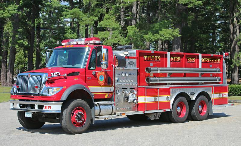 Tanker 1 2006 International / E-One 1500 / 2500