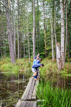 Sixth-Graders Explore Quincy Bog