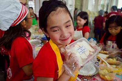 Nutrition Month Food Prep  Grade School 1-3 2019