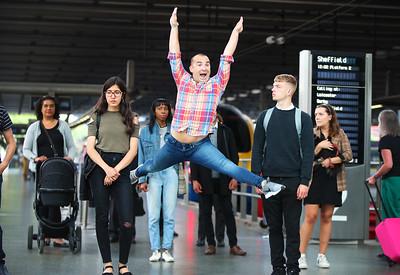 17/7/19 - East Midlands Trains unveils the smart ticketing Queue Quickstep