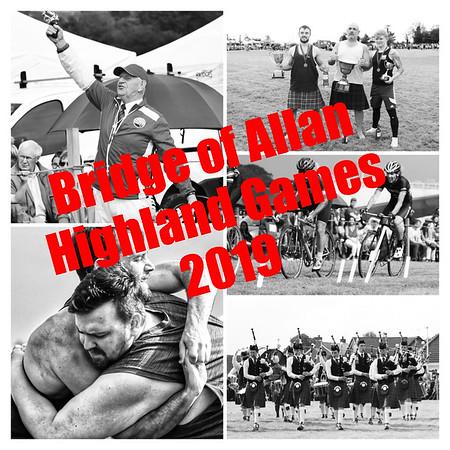 The 2019 Bridge of Allan Highland Games