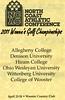 2011-04-23 NCAC Women's Golf Championship