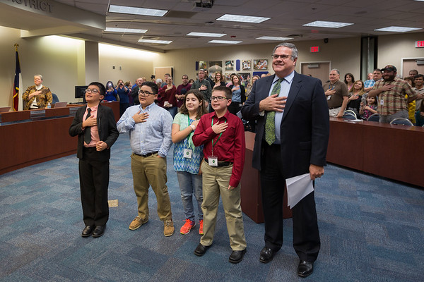 Clear Creek ISD Board of Trustees February Meeting