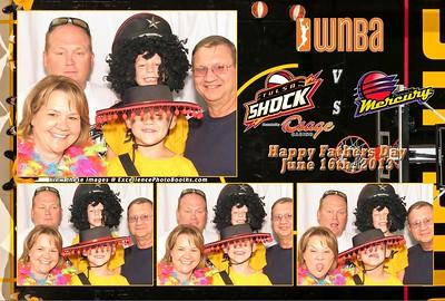 Tulsa Shock June 16th, 2013