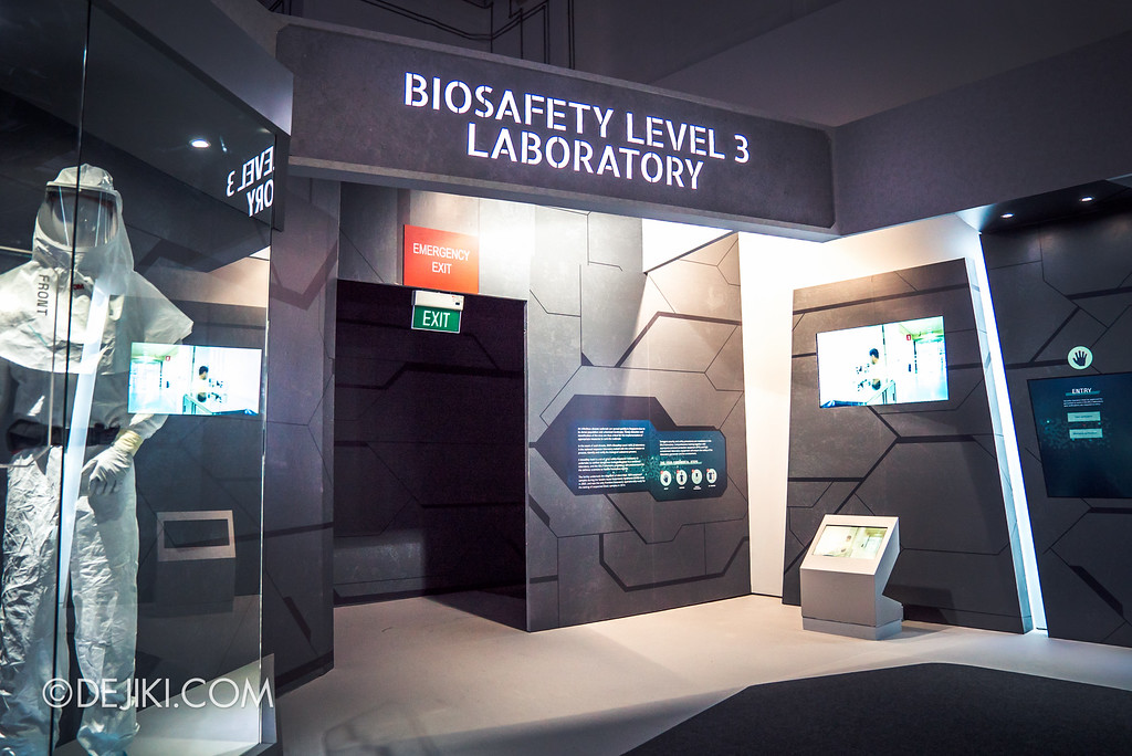 Defence Technology Community 50th Anniversary - SG Defence Exhibition 2016 / Biosafe Level 3 Lab