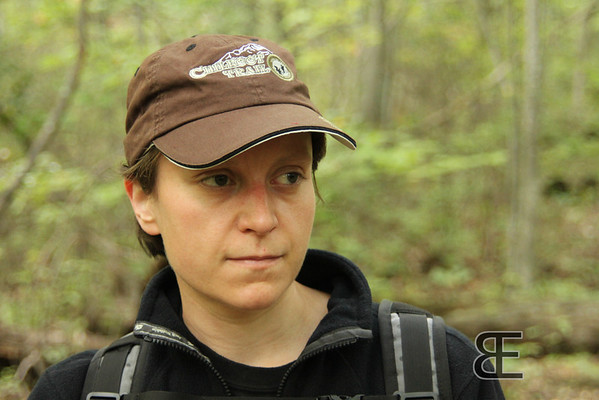 September 2011. Fridley Gap Trail, Virginia. Note the 'Chilkoot Trail'-cap!