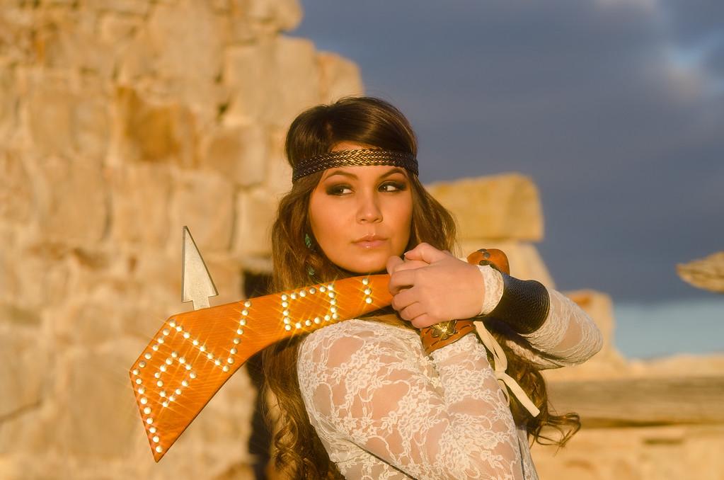 Model:  Shidale W (Navajo Tribe) Makeup by:  Aleece Severson