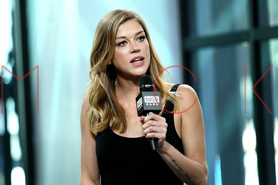 """NEW YORK, NY - OCTOBER 04:  Build presents Adrianne Palicki discussing """"The Orville"""" at Build Studio."""