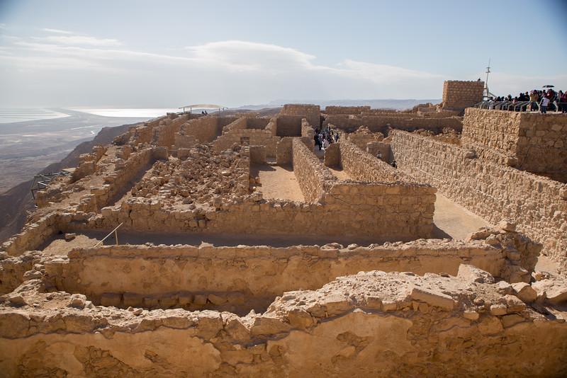 Storage Areas Atop Masada