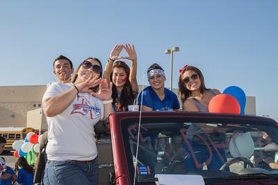 Americas High School Homecoming Parade 2014