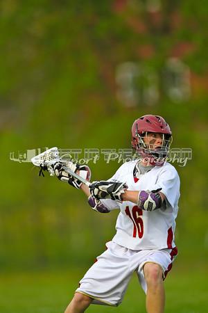 Cardinal Newman 2012 JV Lacrosse vs Justin Siena