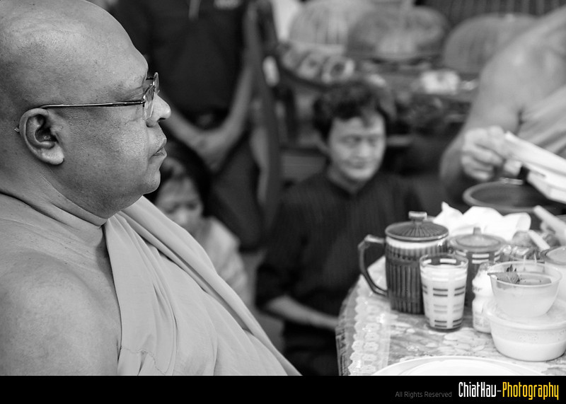 a portrait for the monk.