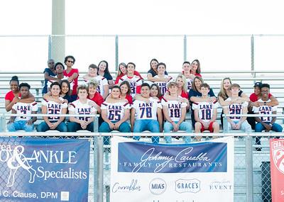 Lake Freshman Football Mom Squad