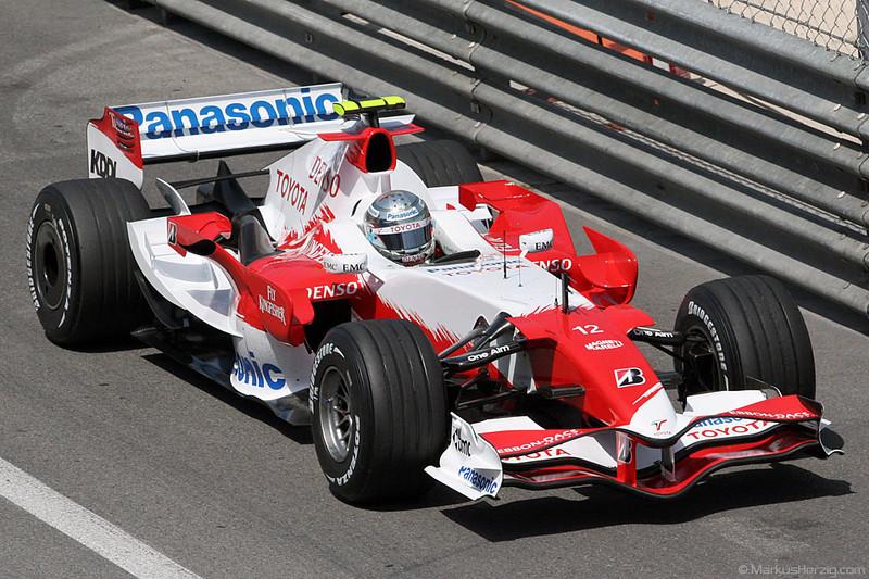 Toyota TF107 - Jarno Trulli ITA @ F1 Grand Prix Monaco 24May07