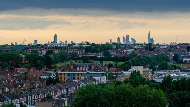 South London cityscape